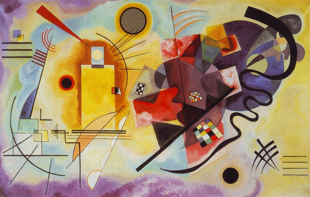 We have seen this one before... What are your goals? What are your thoughts? https://i1.wp.com/www.wassily-kandinsky.org/images/gallery/Yellow-Red-Blue.jpg