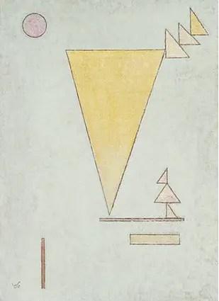 Wassily Kandinsky. White, 1930