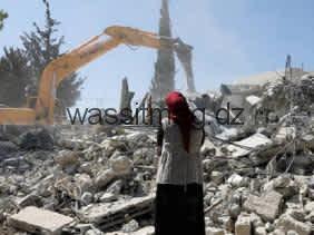 الكيان الصهيوني هدم 31 مبنى فلسطينيا خلال أسبوعين