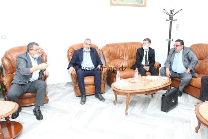 والي ولاية المسيلة عبدالقادرجلاوي ينصب رئيس دائرة عين الحجل الوافد الجديد