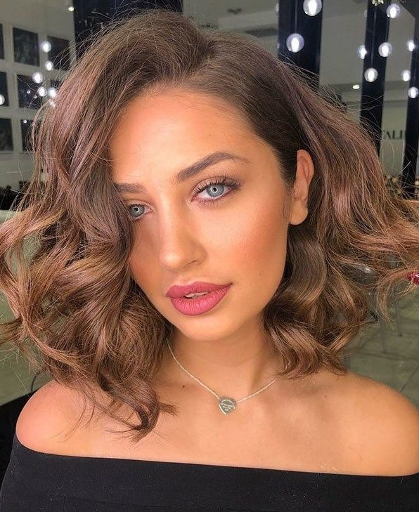 18 Copper Brunette Hair Color Ideas for Short Haircuts in