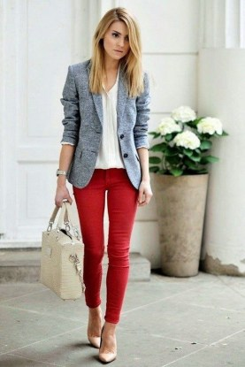 30 Stunning Casual Work Outfit For Summer and Spring (11)