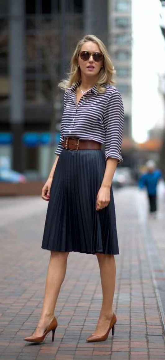 30 Stunning Casual Work Outfit For Summer and Spring (17)