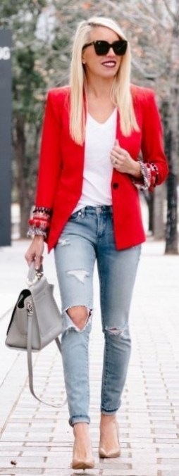 30 Stunning Casual Work Outfit For Summer and Spring (21)