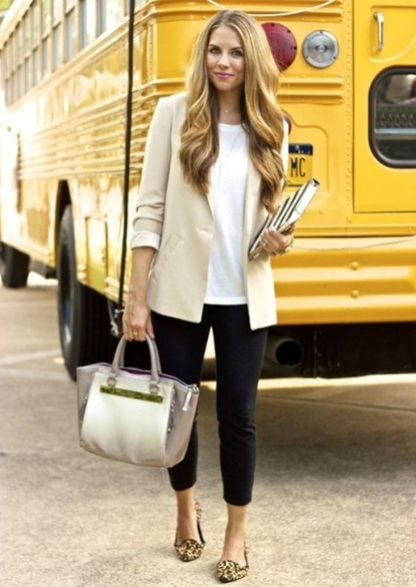 30 Stunning Casual Work Outfit For Summer and Spring (24)