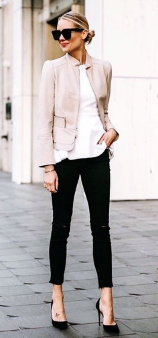 30 Stunning Casual Work Outfit For Summer and Spring (28)