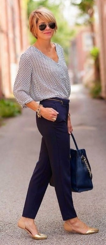30 Stunning Casual Work Outfit For Summer and Spring (5)