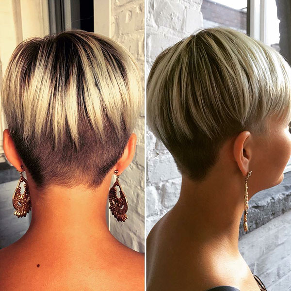 Fine Straight Hair Pixie Cut