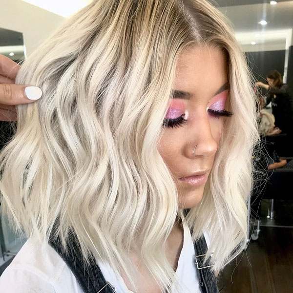 Ladies Short Blonde Hairstyles