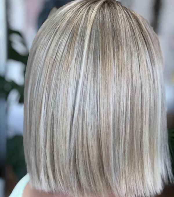 Short Straight Blonde Hair Ideas