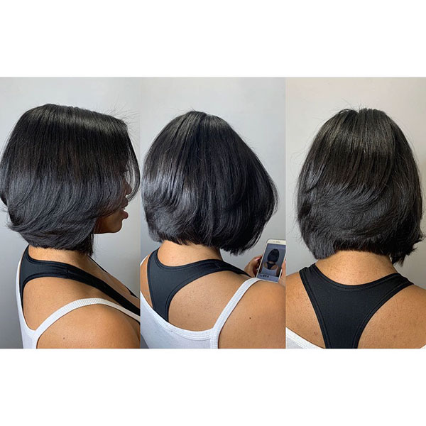 Layered Bob Hairstyles For Black Women