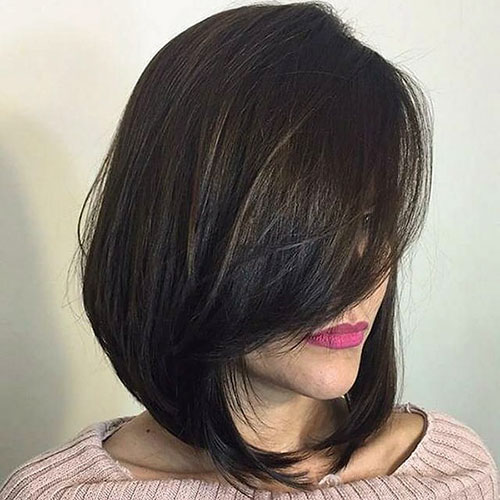 Stacked Bob Hair Cut