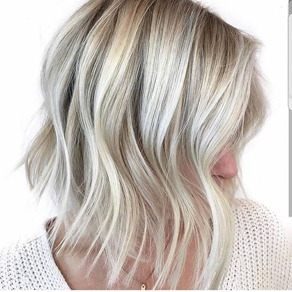 Short Hairstyles With Blonde Highlights