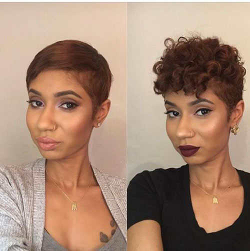 Short Hair Cuts on Black Women-19