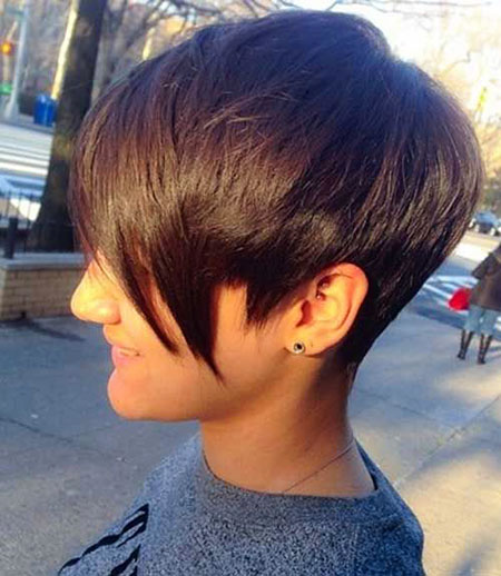 Pixie Hair Layered Short