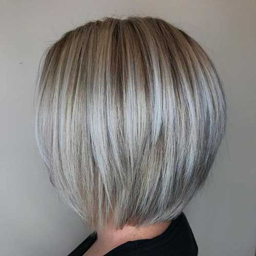 Short Blonde Hair 2018-17