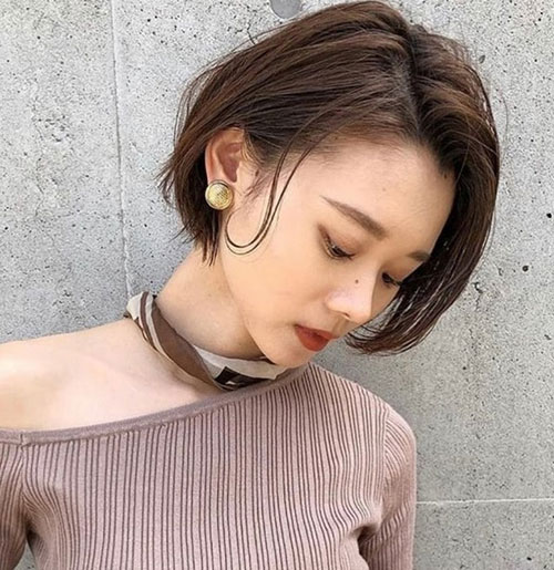 Modern Asian Short Hair Styles-8