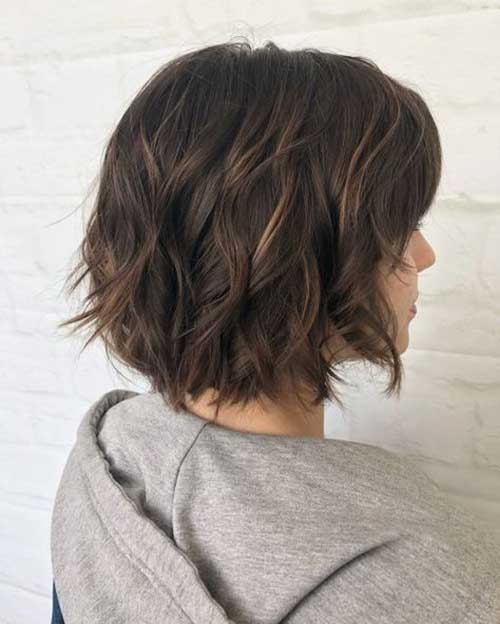 Short Choppy Layered Hair-14