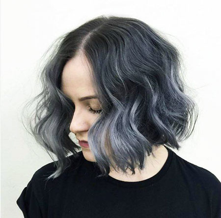 Ombre Wavy Trendy Simple