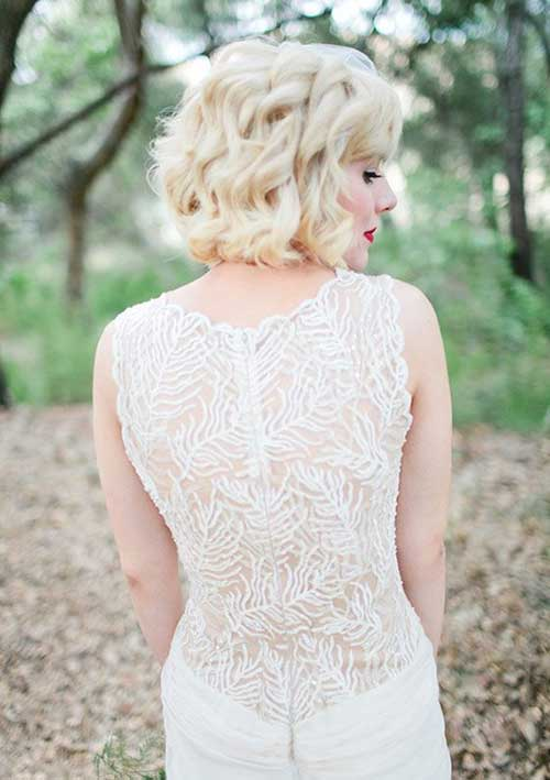 25 Short Hair Bridal Styles Wass Sell