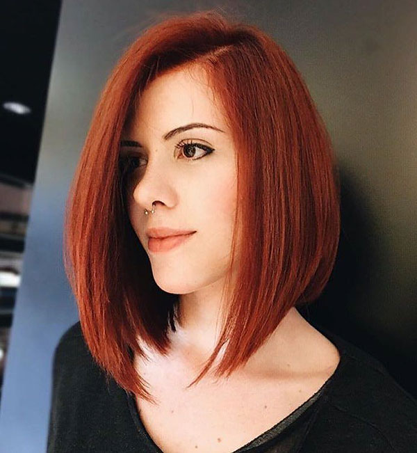 Red Bob Hairstyles 2019