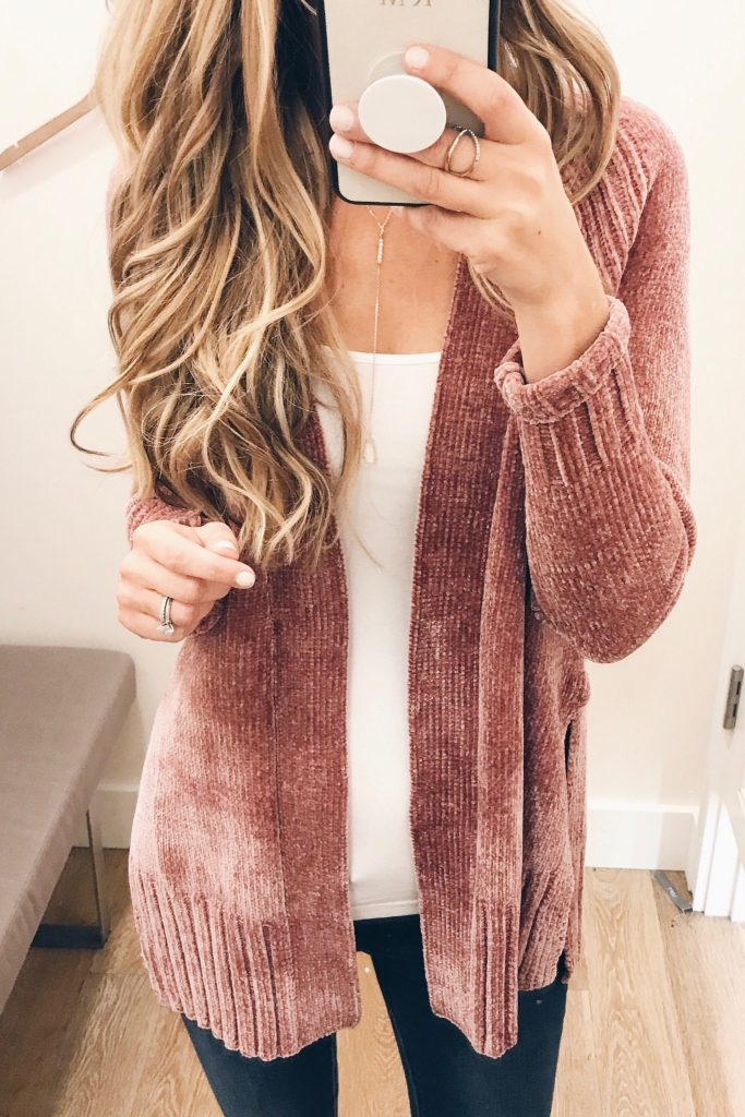 #fall #outfits / Indian Red Cardigan