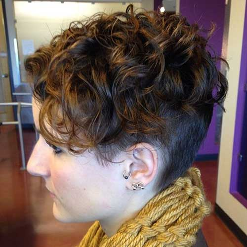 Pixie Haircuts Short Hair Undercut Perm