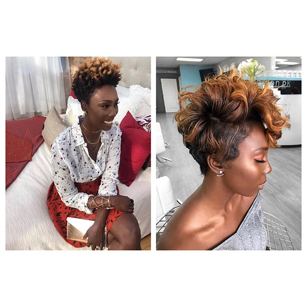 Natural Short Hairstyles For Black Women 2019