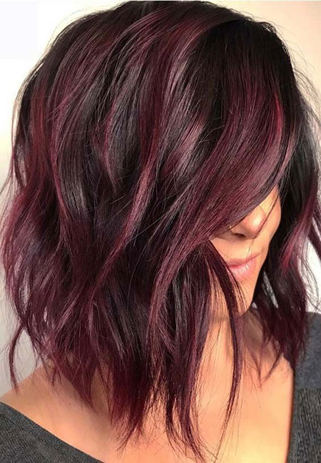 Bob Balayage Color Choppy