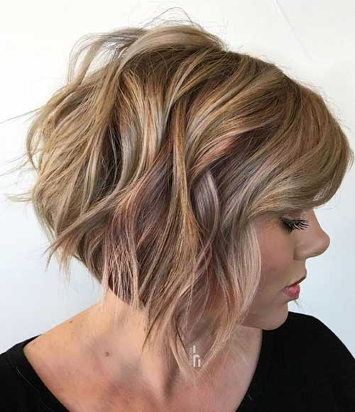 Short Choppy Layered Hair-12