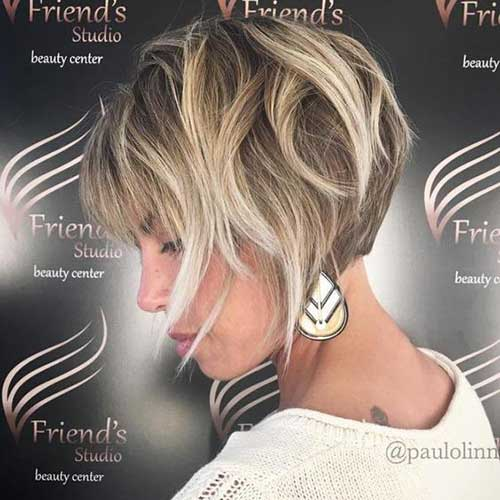 Short Blonde Hair 2018-12