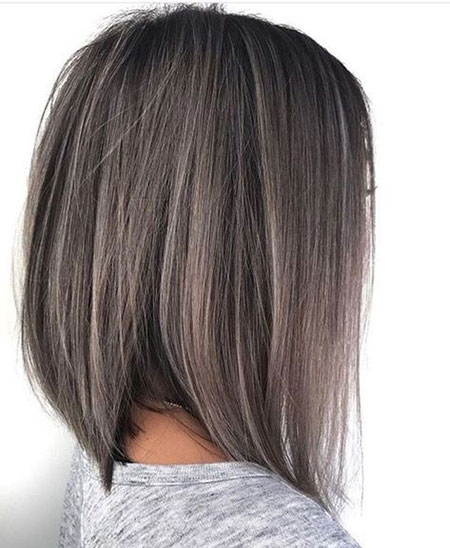 Bob Layered Brown Color
