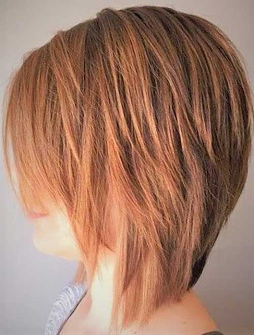 Short Choppy Layered Hair-11