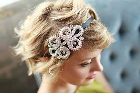Short Hairstyles for Weddings 2014_12