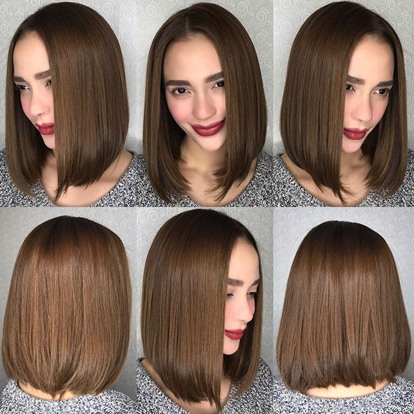 Brown Bob Hairstyles 2019