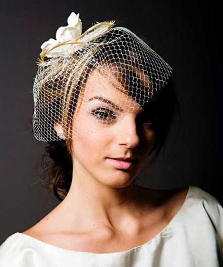 20 Short Hairstyles for Brides_15
