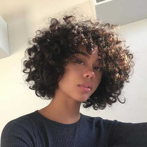 Cute And Pretty Curly Short Hairstyles Wass Sell