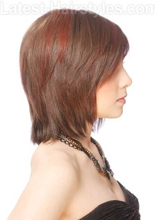 Layered Bob for Fine Straight Hairstyles