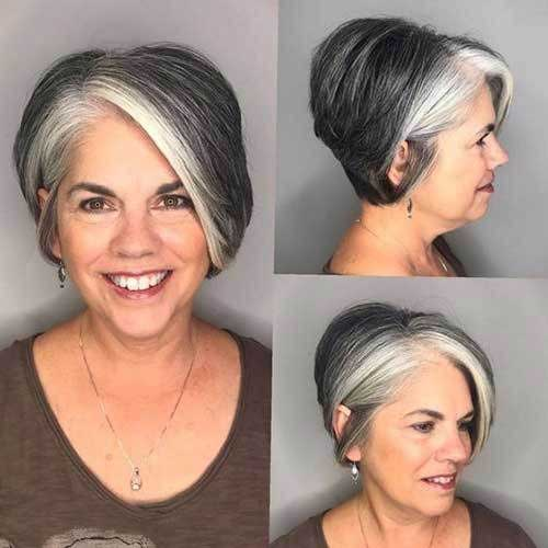 Short Haircuts for Older Ladies-16