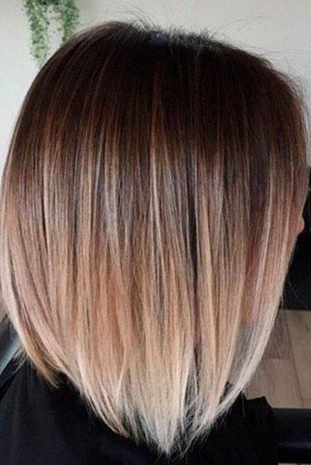 Ombre Hair Color Short