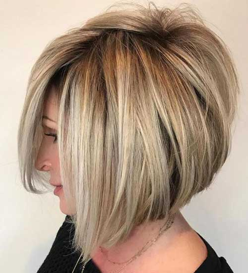 Short Haircuts for Women with Thick Hair -11