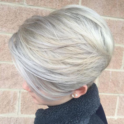 Modern Short Blonde Hair Styles-15