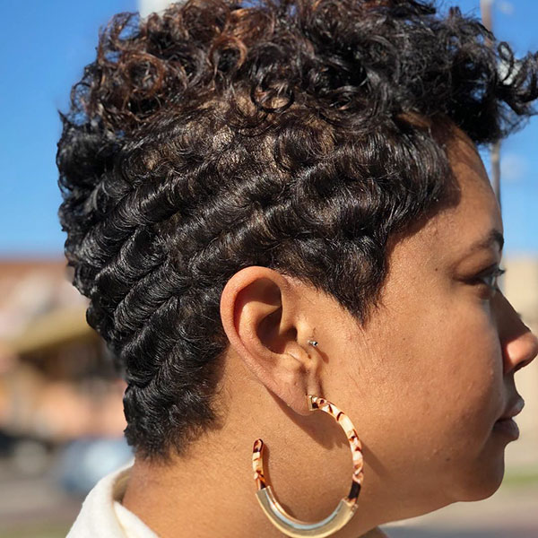 Pixie Cut Black Women 2019