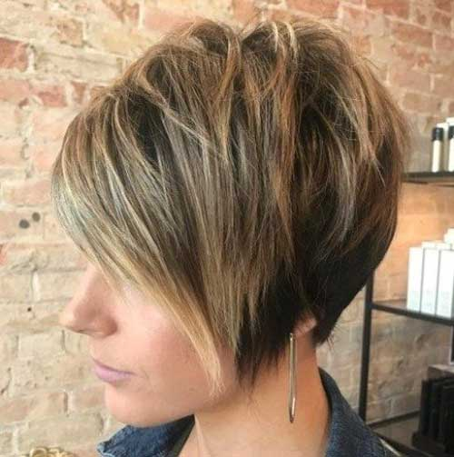 Short Choppy Hairstyles for Thick Hair
