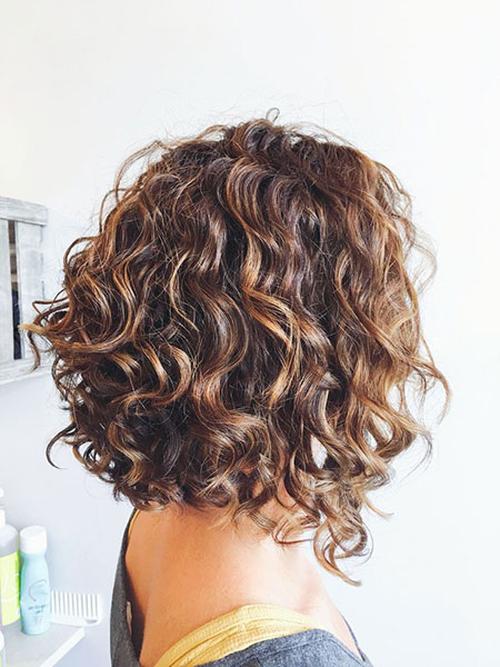 Shoulder Length Bob, Curly Bob Hairtyles Short