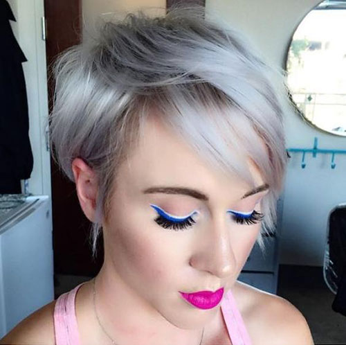 Short Hairstyles for Fine Thin Hair-16