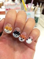25 Amazing Husky Designs for Winter Nail Art