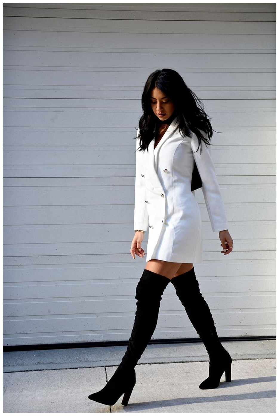 40+ ways to wear thigh high boots this winter 32