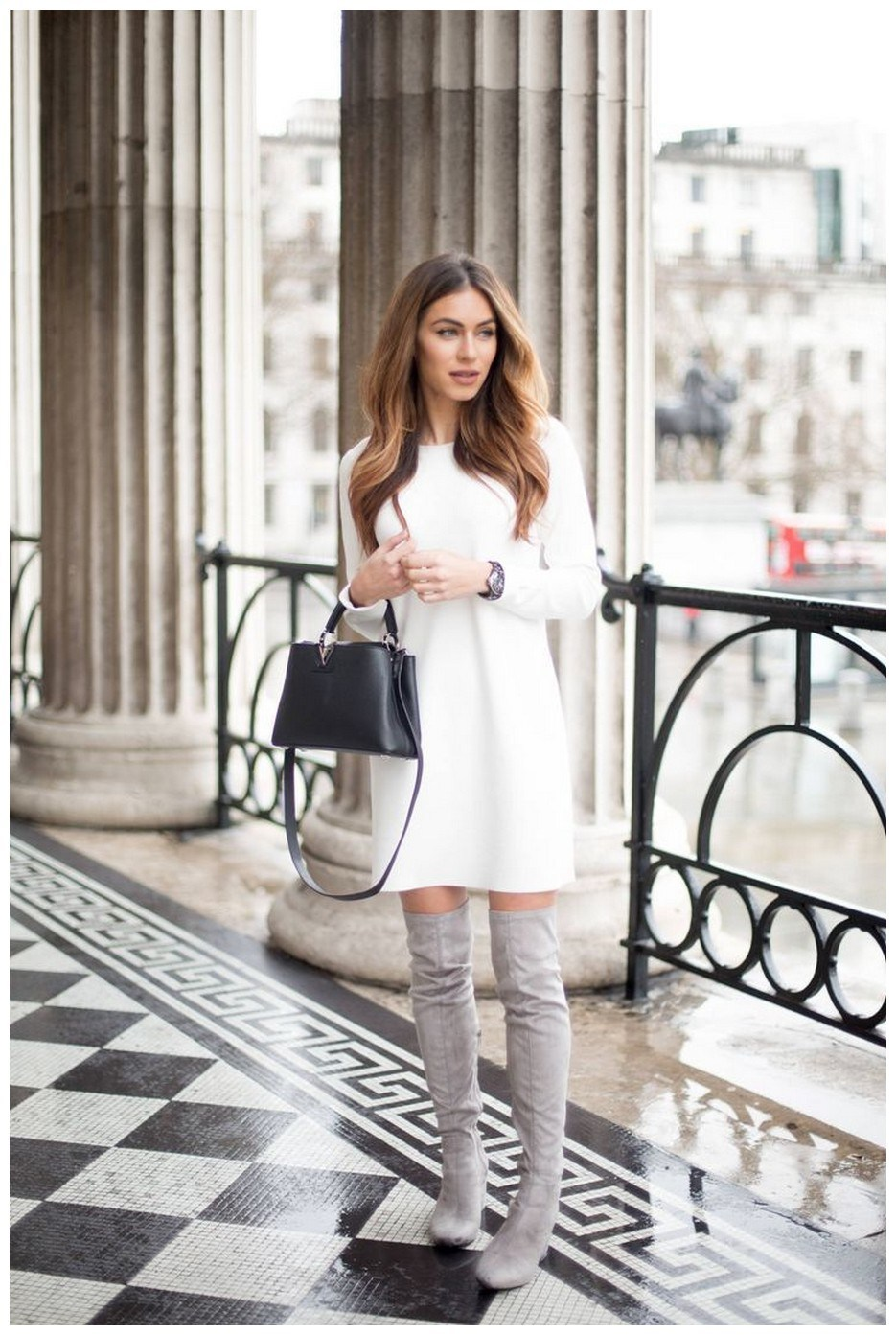 40+ ways to wear thigh high boots this winter 31
