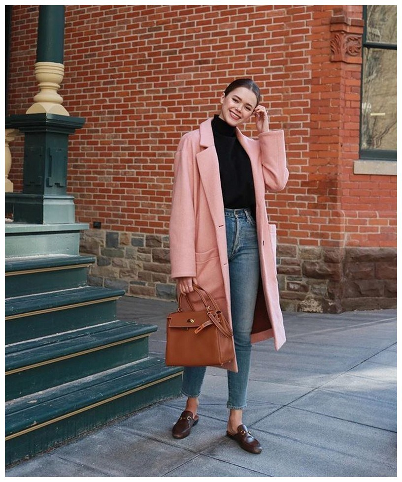 50+ pretty winter outfits you can wear on repeat 28